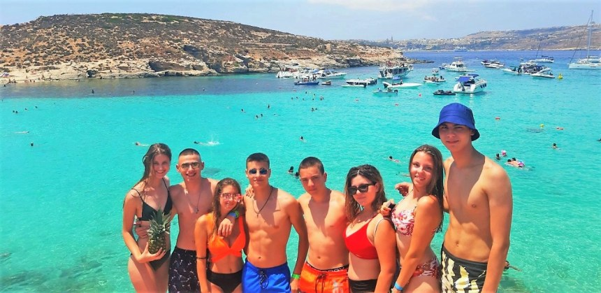 Letnji kamp engleskog jezika na Malti sa jezickom mrezom Verbalisti