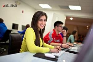 Polaznica jezičke mreže Verbalisti na kursu engleskog u Bostonu