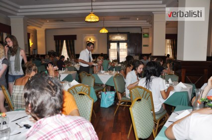 Program active MALTA, restoran hotela Vindzor