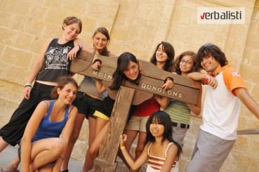 Verbalisti polaznici letnje skole na Malti
