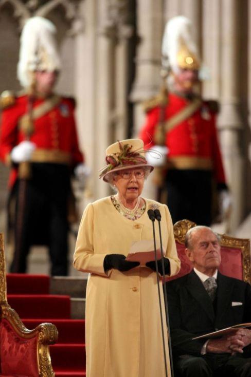 Kraljica Elizabeta u obracanju Britanskom parlamentu 20. marta 2012.
