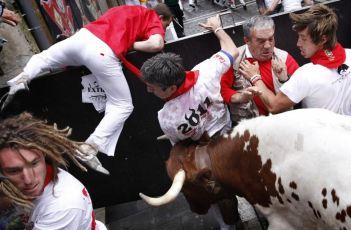 San Fermin trka s bikovima