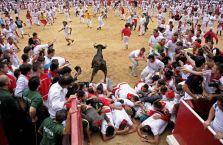 Trka s bikovima u Pamploni