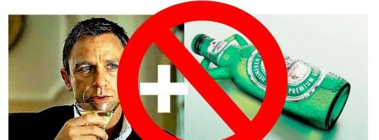 Dzejms Bond presao na pivo Hajneken
