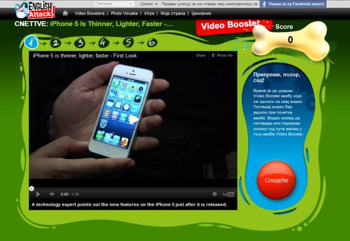 Karakteristike novog iPhone 5 mobilnog telefona