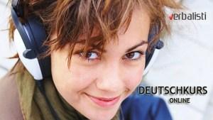 Kurs nemackog preko interneta sa jezickom mrezom Verbalisti