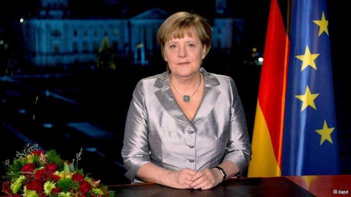 Online nemacki, Angela Merkel