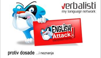 Verbalisti, English Attack protiv dosade i neznanja