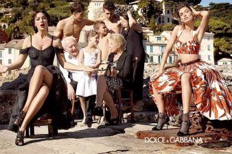 Monika Beluci u novoj kampanji za Dolce and Gabbana