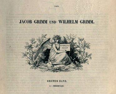 Nemacki recnik brace Grim