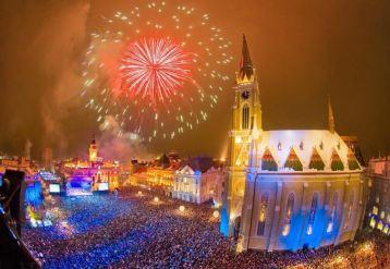 Novi Sad, Srbija, novogodisnja atmosfera
