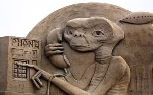E.T. from Steven Spielberg film