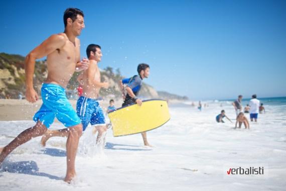 Verbalisti na plazi Malibu