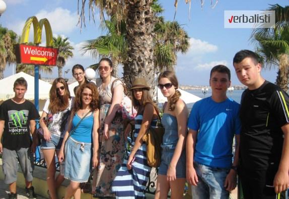 Letnja skola engleskog na Malti, grupa 06 juli, Verbalisti, 2013