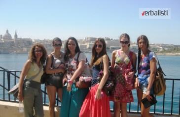 Polaznice kursa engleskog jezika na Malti