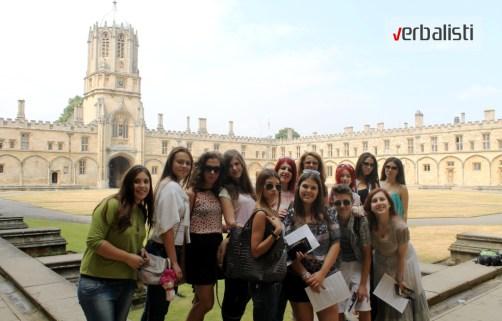 Polaznici jezicke mreze Verbalisti u Oksfordu, 2013