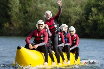 At New Forest Water Park, Kings Oxford, Verbalisti