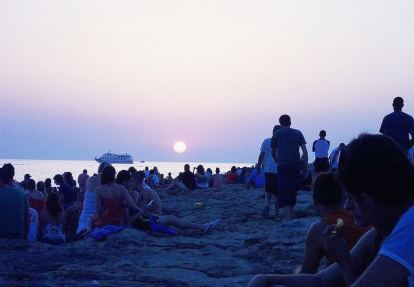 Zalazak sunca na Ibici