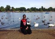 at Hyde Park