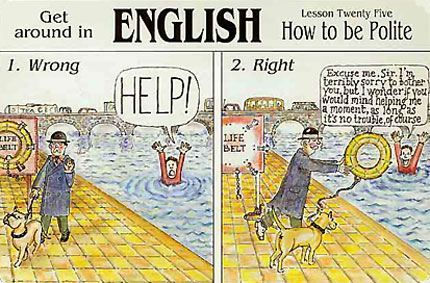 stereotipi o Britancima, Verbalisti