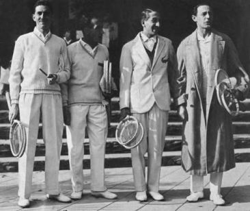 Cetiri musketara francuske teniske reprezentacije