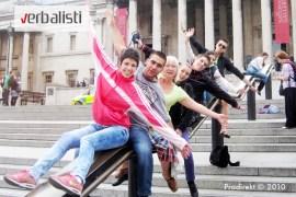 Kursevi engleskog i jezicko putovanje My London, Verbalisti