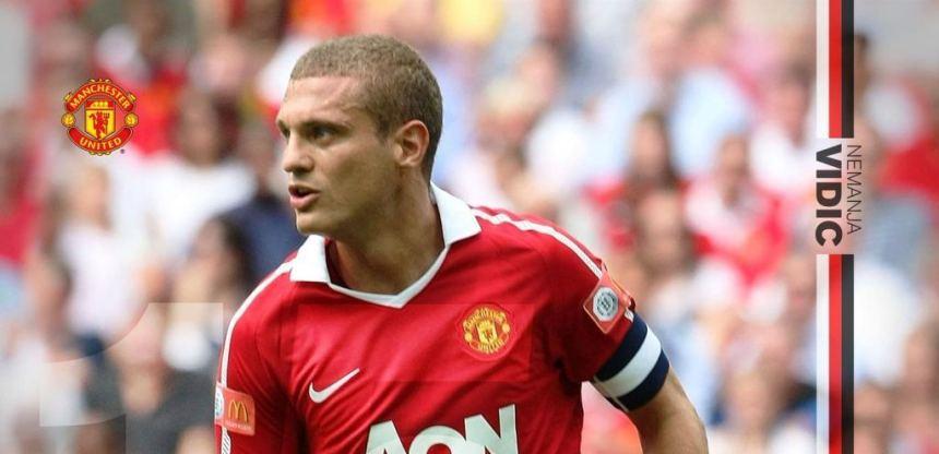 Manchester United Nemanja Vidic