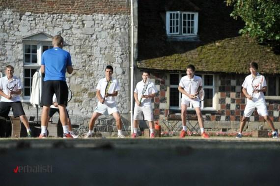Teniski trening, Verbalisti