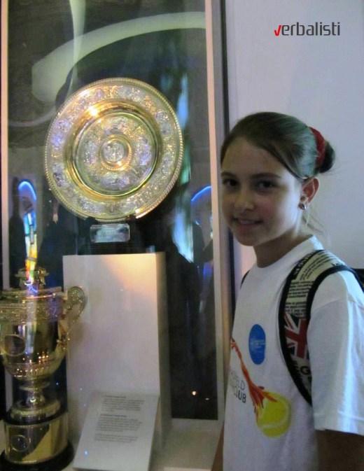 Tennis excursion to Wimbledon