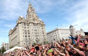 Liverpool is famous for concerts and music festivals