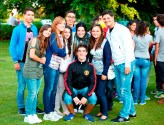 Students, school lila, summer 2013