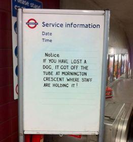 Uljudni Britanci i Londonski metro