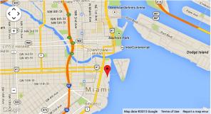 Lokacija skole engleskog jezika OHLA u Majamiju, Verbalisti