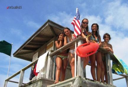 Majami 2014, na plazi, Verbalisti