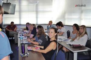 Polaznici jezicke mreze u skoli OHLA, Miami