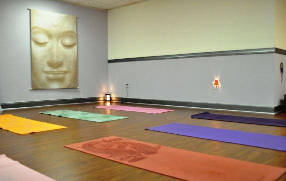 Skola jezika OHLA Miami, soba za jogu
