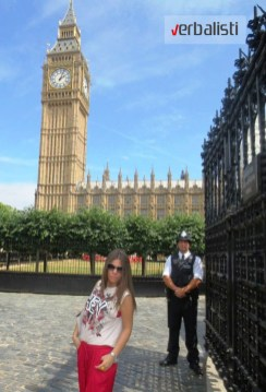 Jelena u Londonu