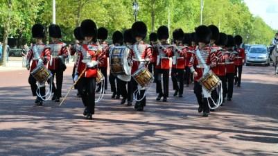 London za vreme praznika St. George's Day
