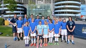 Manchester City skola fudbala za devojcice