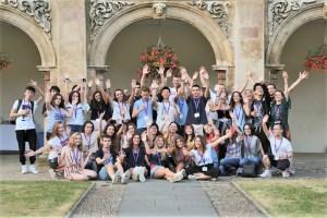 Polaznici jezicke mreže Verbalisti u Magdallene College u Kembridžu