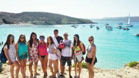 Izlet u Plavu lagunu ostaje u najlepšem sećanju, Aleksandra na Malti
