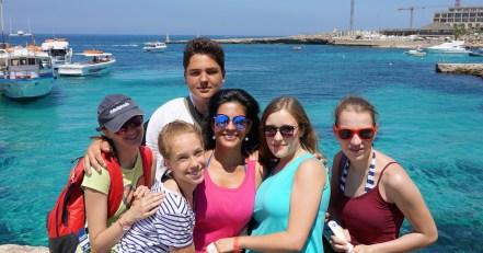 Letnja skola engleskog jezika na Malti, izleti