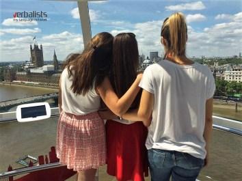 Pogled na London kroz njegovo čuveno oko, London Eye