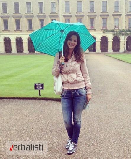 Tanja Todorovic u Oksfordu
