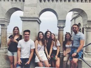 Sa društvom iz škole, nemački jezički program u Beču, Verbalisti