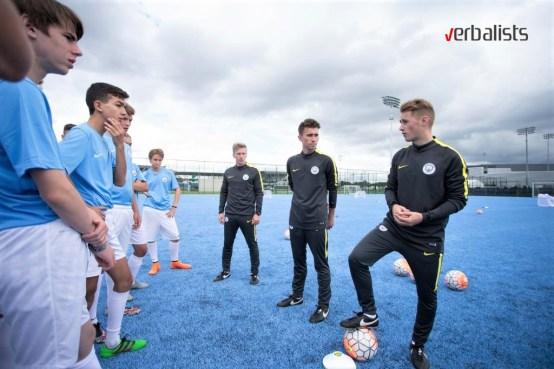 City Football Language School, Verbalists
