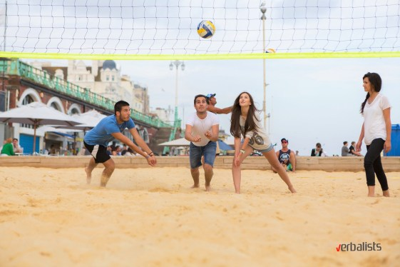 Odbojka na pesku, Brighton, Verbalisti