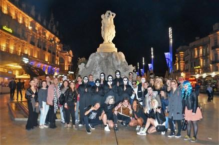 Halloween žurka, škola francuskog ILA u Monpeljeu