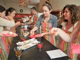 Polaznice jezicke mreze na casovima kuvanja i francuskog u Monpeljeu