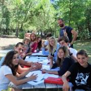 Letnji kamp italijanskog u Italiji, Linjano, Verbalisti